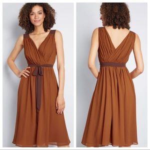 ModCloth Wholly Romantic Midi Dress